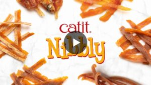 Catit Nibbly video