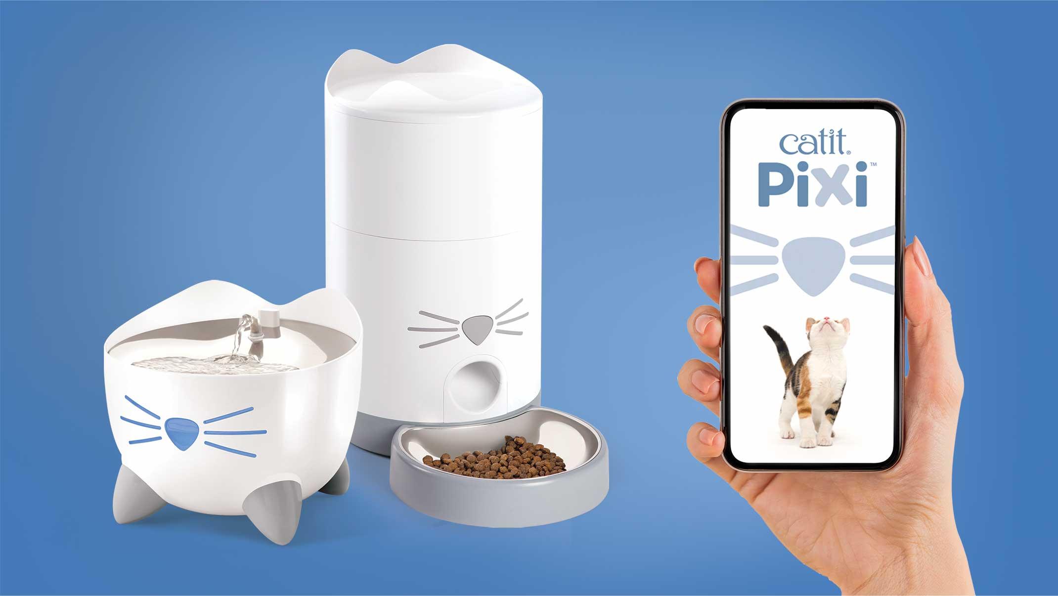 Catit PIXI App & Wi-Fi Quick Start Guide