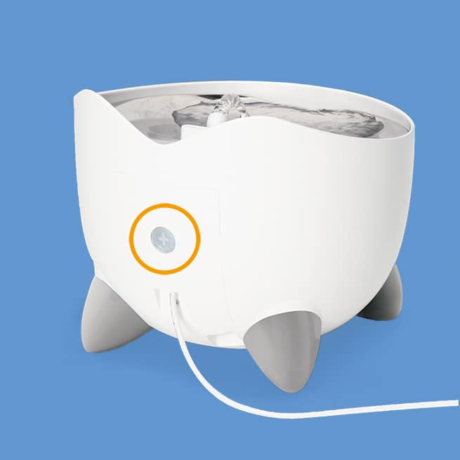 Catit PIXI Smart Fountain-back