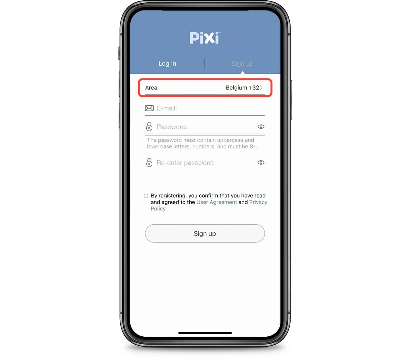 PIXI App correct area