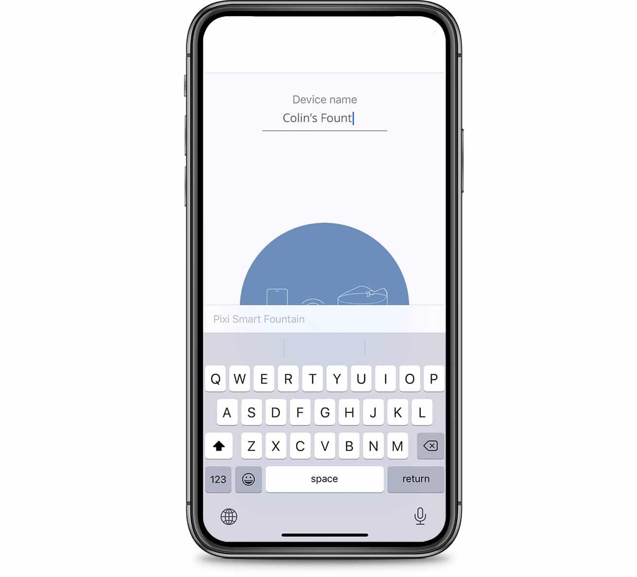 PIXI App name device